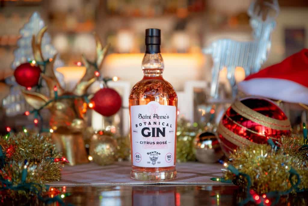 SanTan Spirits Citrus Rose Botanical Gin is a great holiday gift for gin lovers.