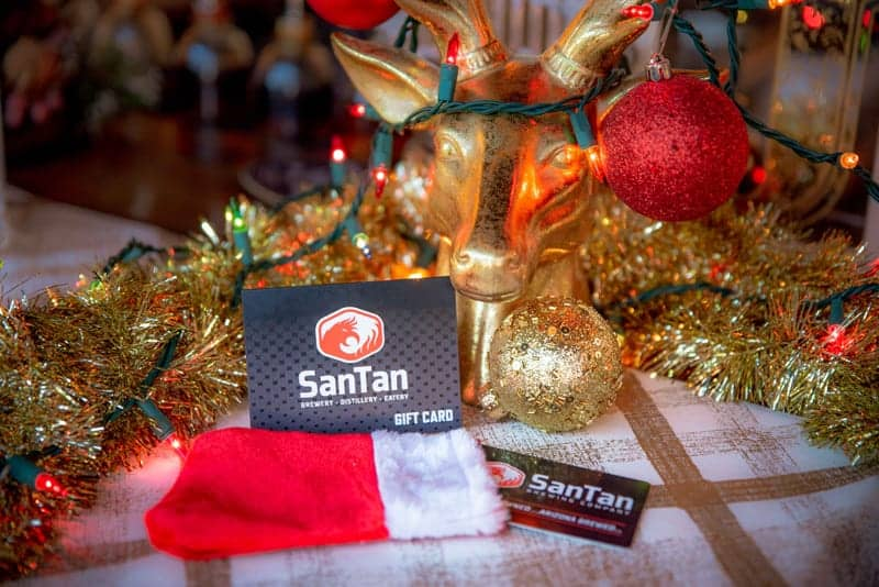 SanTan gift cards are an ideal holiday present to enjoy at our pubs.