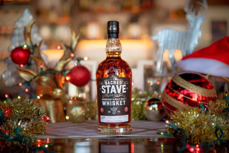 Sacred Stave American Single Malt Whiskey is a great gift for lovers of Arizona distilling.