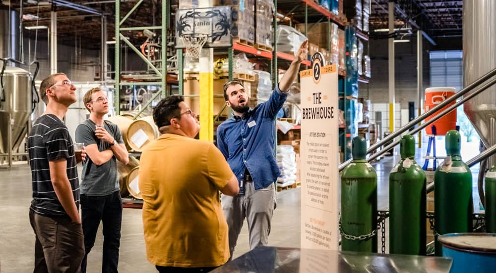 Take dad on a SanTan Brewery + Distillery Tour for Father's Day